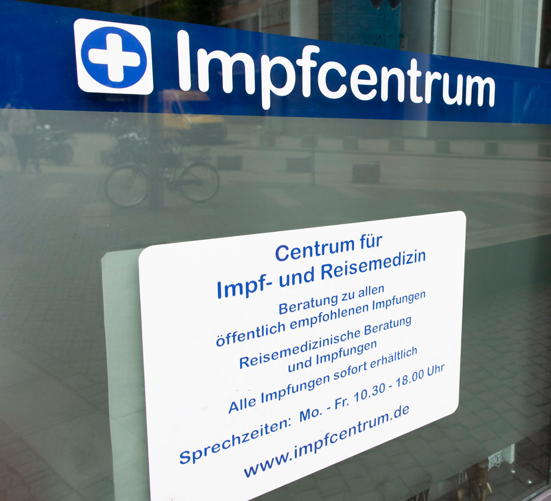 Impfcentrum Praxis in Hamburg St.Pauli